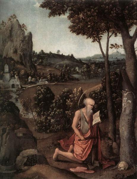 Rocky Landscape with Saint Jerome