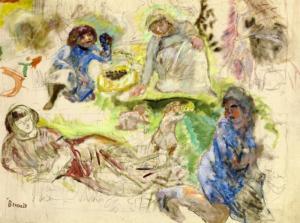 Figure Studies for 'Le Printemps'