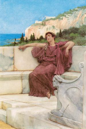 A Female Figure Resting