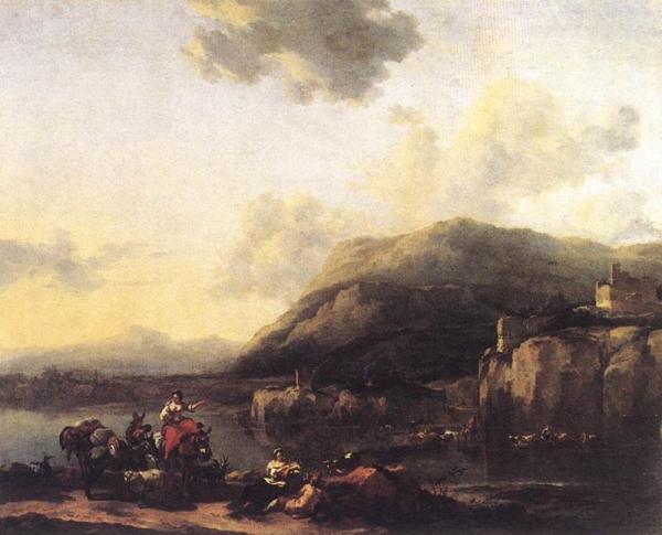 Landscape with Jacob, Rachel, and Leah