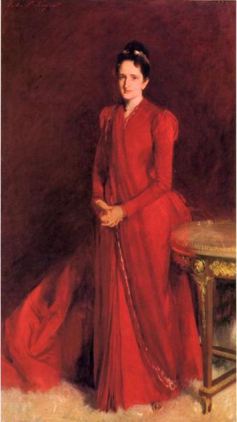 Portrait of Mrs. Elliott Fitch Shepard