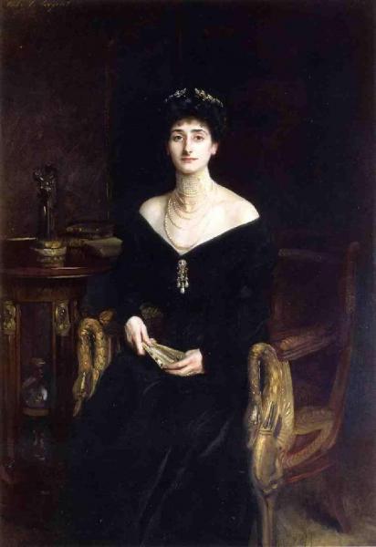 Portrait of Mrs. Ernest G. Raphael