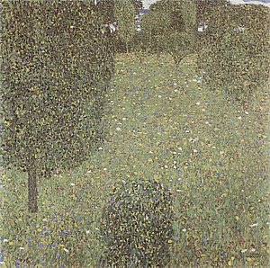 Gustav Klimt Landscape Garden (Meadow in Flower), 1906