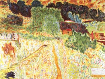 Pierre Bonnard Large Landscape in the Midi 1945