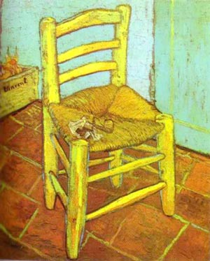 Vincent van Gogh Chair with Pipe 1888