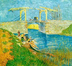 Vincent van Gogh The Langlois Bridge April 1998