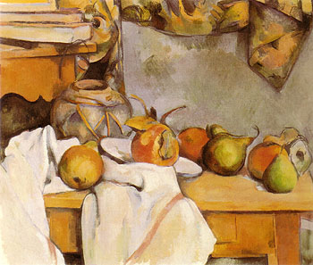 Paul Cezanne Still Life with a ginger Pot