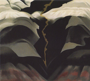 Georgia OKeeffe Black Place III