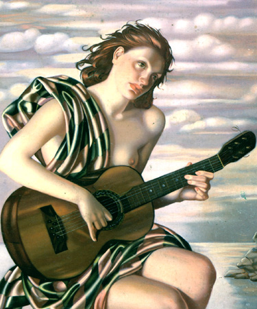 Tamara de Lempicka Amethyste 1946
