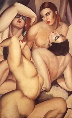 Tamara de Lempicka Four Nudes