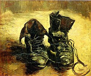 Vincent van Gogh A Pair of Shoes 1886
