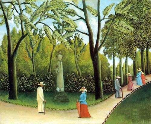 Luxembourg Garden,oil paintings online