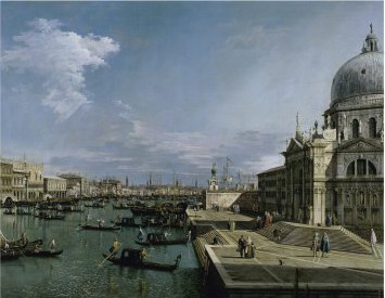 Canaletto Church of the Blessed Sacrament, Venice