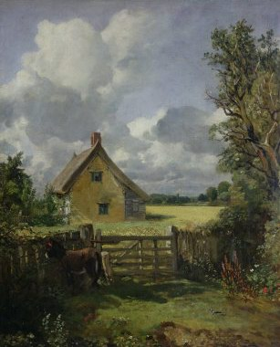 John Constable Cottage in a Cornfield oil painting reproduction