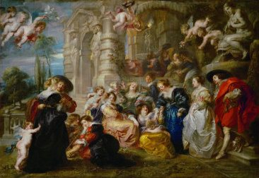 Peter Paul Rubens The Garden of Love oil painting