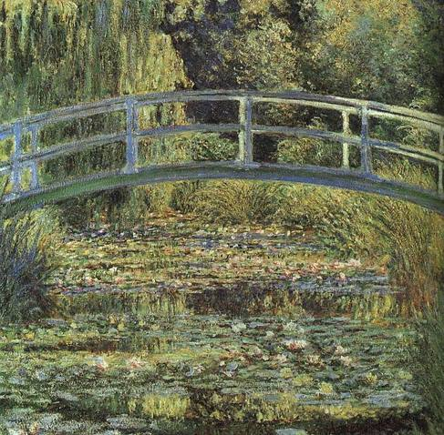 The Waterlily Pond Claude Monet 1899