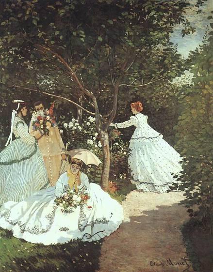 The women in the Garden Claude Monet 1866