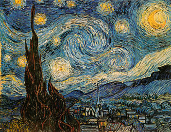 Vincent Van Gogh The Starry Night oil painting reproduction