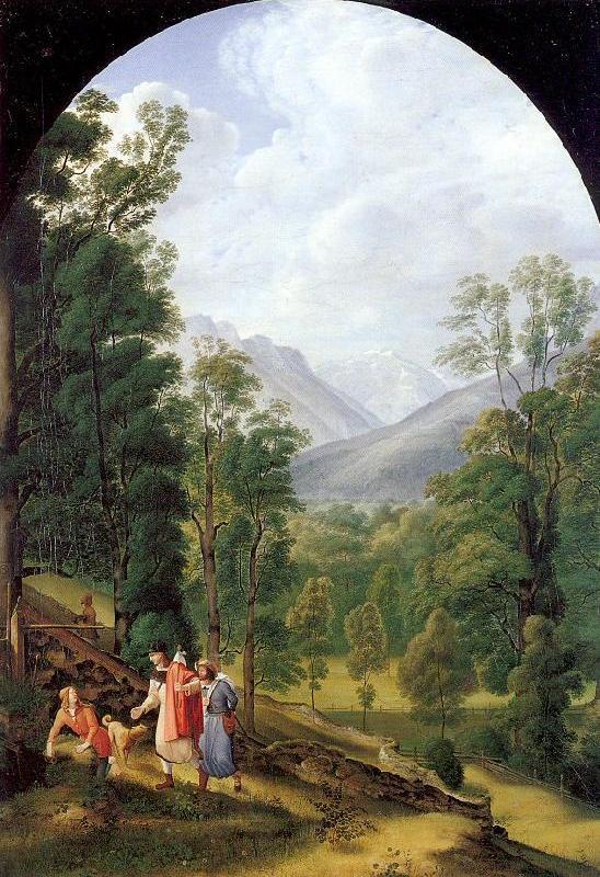 Landscape near Berchtesgaden