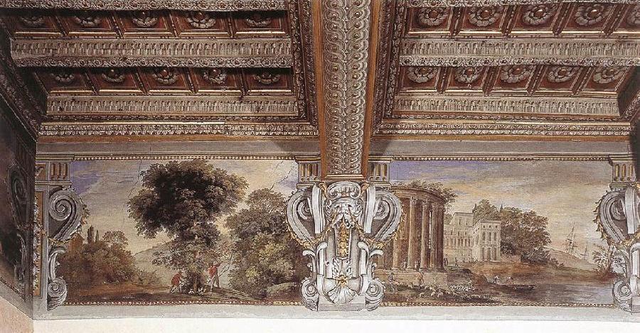 Imaginary Landscape with Temple of Sibyl at Tivoli iyu
