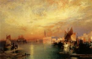 Sunset Venice