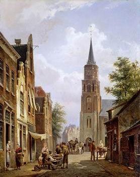 European city landscape, street landsacpe, construction, frontstore, building and architecture.044