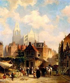 European city landscape, street landsacpe, construction, frontstore, building and architecture.067