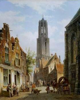 European city landscape, street landsacpe, construction, frontstore, building and architecture. 256