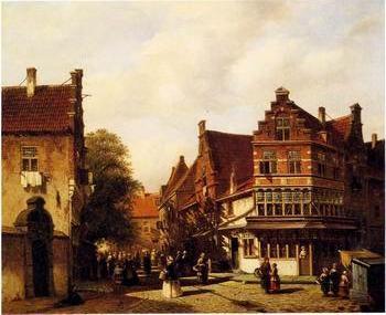 European city landscape, street landsacpe, construction, frontstore, building and architecture.019
