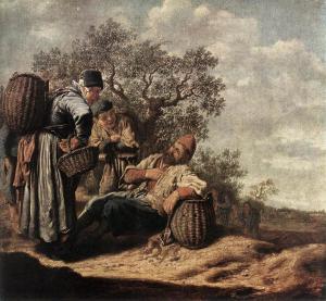 Landscape with Conversing Peasants sg