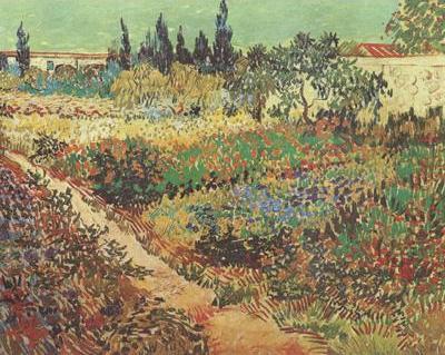 Flowering Garden with Path (nn04)