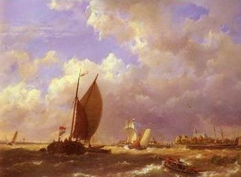 Seascape, boats, ships and warships. 21