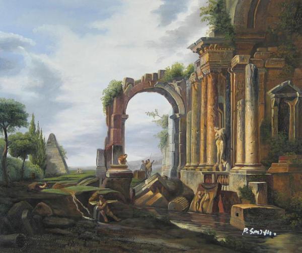 Capriccio of Classical Ruins
