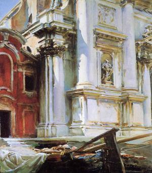 Corner of the Church of St. Stae Venice