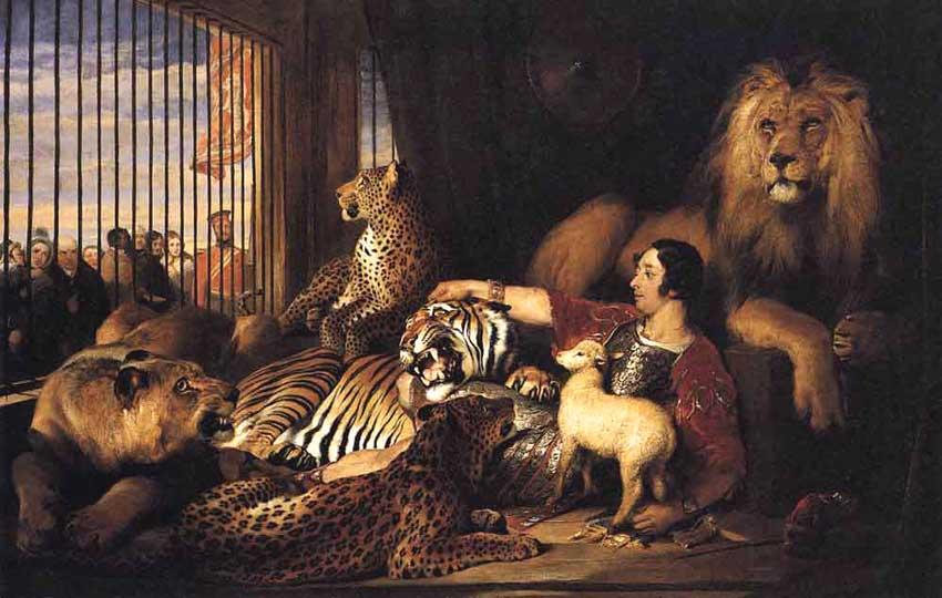 Sir Isaac Van Amburgh and His Animals