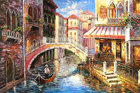 View of Venice Canal