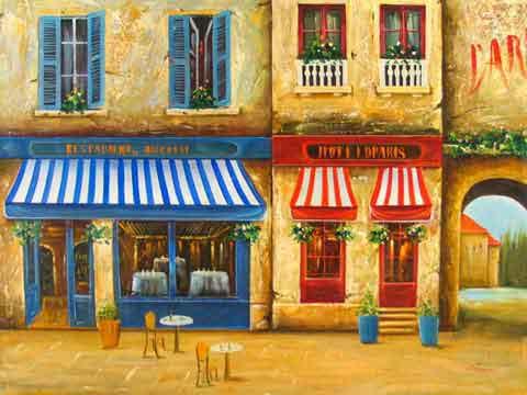 Paris Store Front