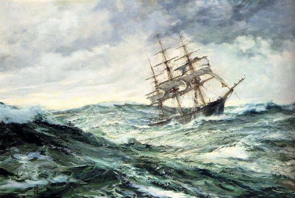 A Ship in a Stormy Seas