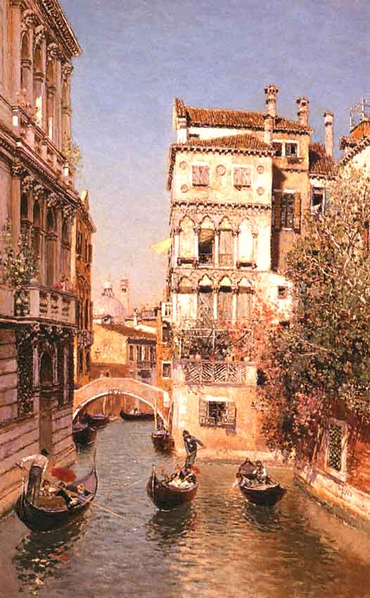 Along the Canal of Venice