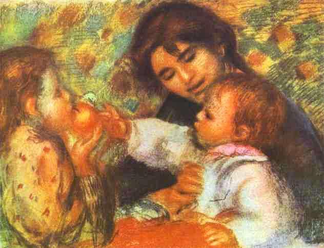 Gabrielle with Renoirs Children