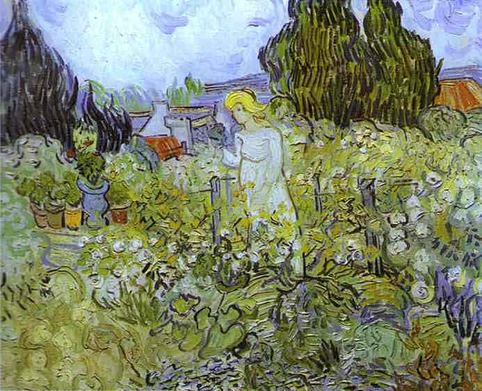 Gachet in her Garden at Auvers Sur Oise