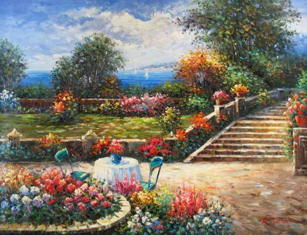 Garden on the Mediterranean
