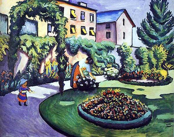The Macke Garden at Bonn