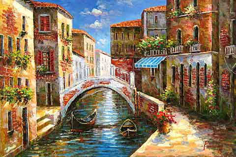 Venice Scenes,oil paintings sale