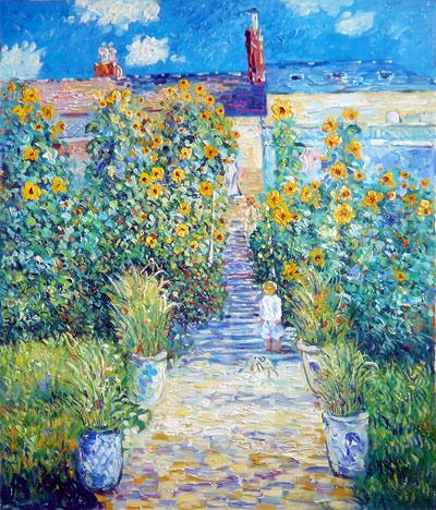 Artists Garden at Vetheuil