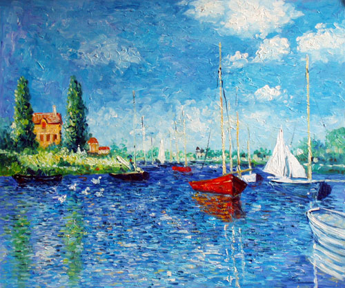 Red Boats of Argenteuil