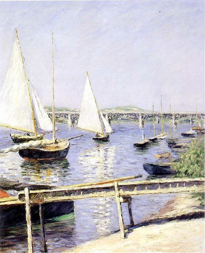 Sailboats in Argenteuil, 1888