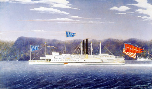 The Hudson River Steamboat, Rip Van Winkle
