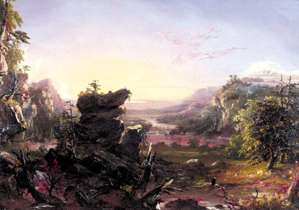 Landscape in Early Fall