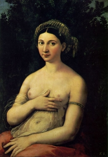 Portrait of a Nude Woman (the Fornarina)